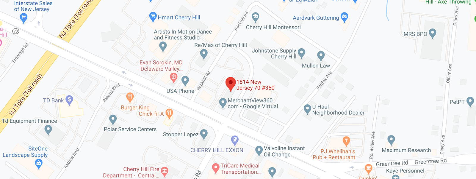 Map to Office